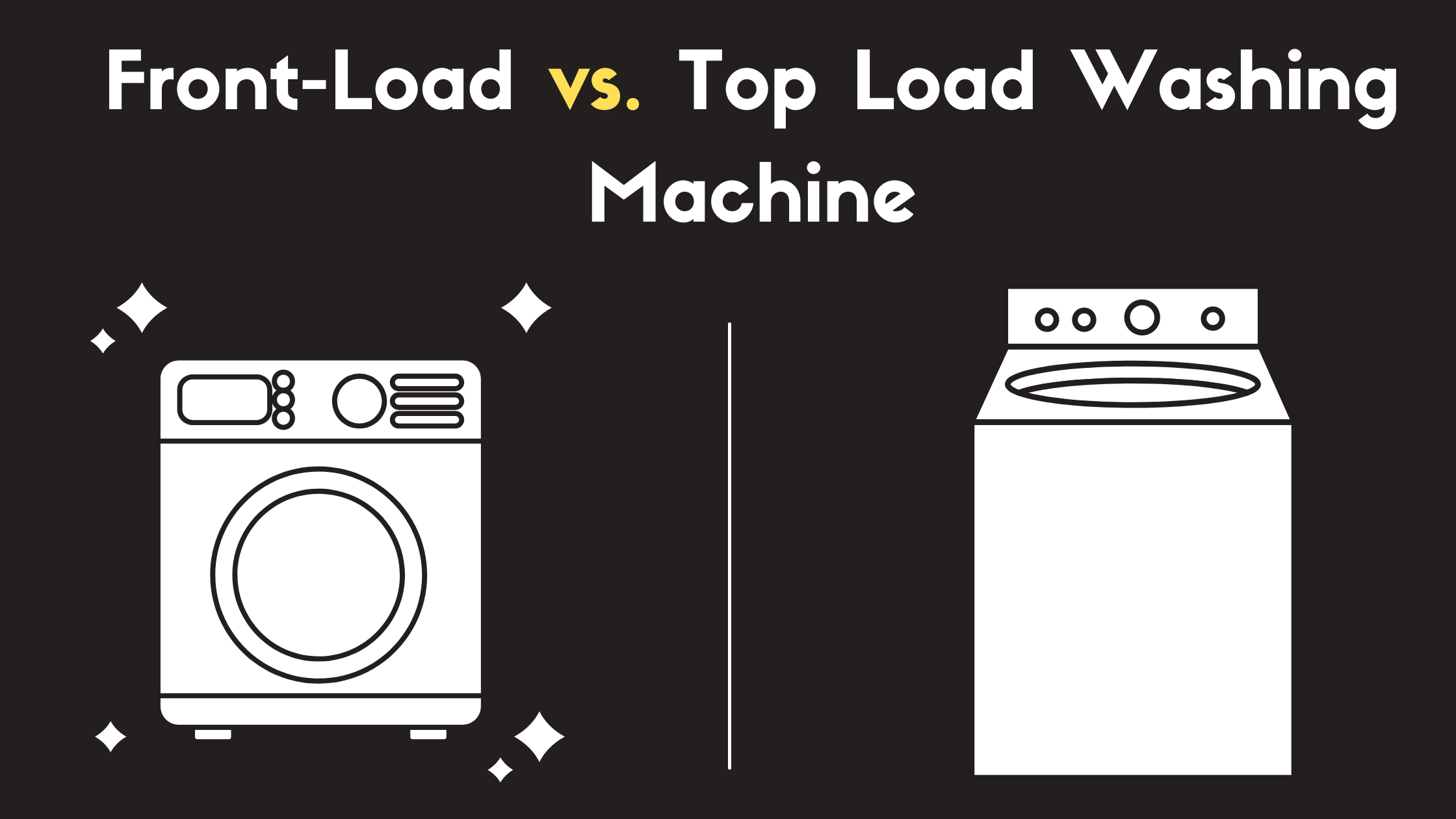 Different Types of Washing Machine in the Market